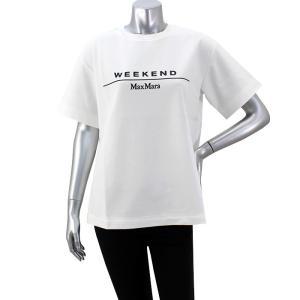 ファイナルクリアランス マックスマーラ WEEK END MAX MARA ボンディングコットンロゴカットソー Tシャツ OLIATO|santnore