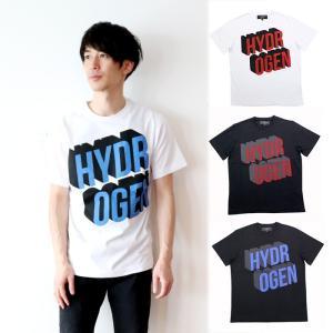 クーポン使えます 在庫一掃バーゲン ハイドロゲン HYDROGEN 80sロゴプリントTシャツ 225606|santnore