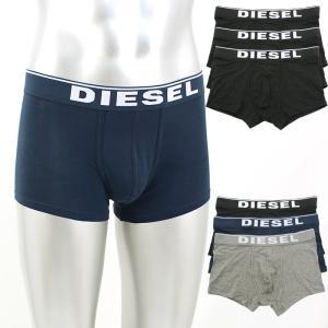 ディーゼル DIESEL ロゴデザインボクサーパンツ3枚セット ST3V-JKKB|santnore