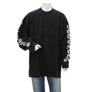 ヴェトモン VETEMENTS GOTHIC FONT LONGSLEEVE ロングスリーブTシャツ UAH21TR526 メンズ|santnore