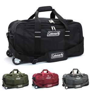 大人気アウトドアブランド「Coleman」のボストンキャリーバッグです。軽くて丈夫なポリエステル素材...