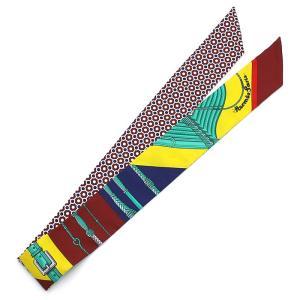 クーポン使えます エルメス HERMES ツイリースカーフ トゥイリースカーフ 063149S 01|santnore