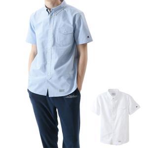 チャンピオン CHAMPION ショートスリーブボタンダウンシャツ C3-M341 国内正規品|santnore