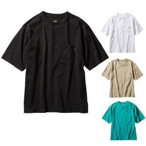 ノースフェイス THE NORTH FACE ショートスリーブエアリーポケットティー S/S Airy Pocket Tee 半袖Tシャツ NT11968 メンズ 国内正規品|santnore