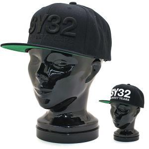 エスワイサーティトゥーバイスウィートイヤーズ SY32bySWEETYEARS 3Dロゴスナップバックキャップ 3D LOGO SNAPBACK CAP 10282 メンズ 国内正規品|santnore