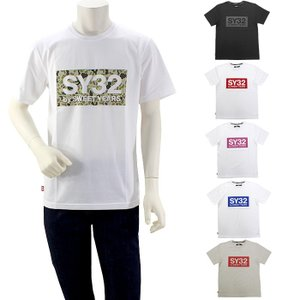 期間限定セール エスワイサーティトゥーバイスウィートイヤーズ SY32bySWEETYEARS カラーボックスロゴTシャツ 9023  国内正規品|santnore