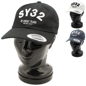 クーポン使えます エスワイサーティトゥーバイスウィートイヤーズ SY32bySWEETYEARS ARCH LOGO CAP キャップ 9087 国内正規品 santnore