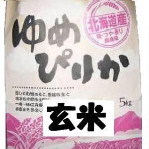 元年産ゆめぴりか玄米 5kg