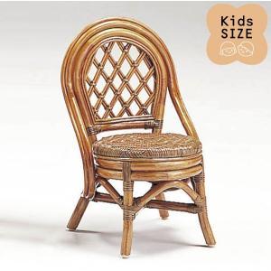 籐子供椅子 ラタンドールチェア ミニバリチェア アンティークブラウン色フレーム アジアンテイスト|sanukiya
