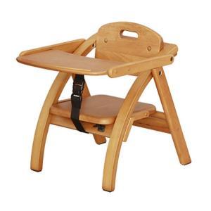 ベビーチェア 大和屋 Arch (アーチ) 木製ローチェア-N ライトブラウン色 完成品|sanukiya
