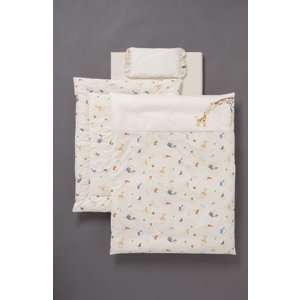 コンパクト(ミニ)ベッド用洗える組布団6点セット アドレーベベ ミニ|sanukiya