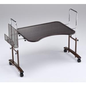 アーチ型フリーデスク/ベッドテーブル テーブル巾80センチ|sanukiya