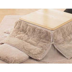 こたつ布団 ふんわり素材小型長方形こたつ薄掛布団 60×90センチこたつ用 フィリップ 4色対応|sanukiya