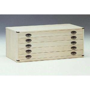 和たんす、和装収納 桐チェスト 5段 完成品 国産品(日本製) 和風|sanukiya