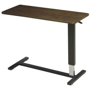 昇降ベッドテーブル(ワイドタイプ) テーブル巾98センチ LWM-98 DB ダークブラウン メラミン張り|sanukiya