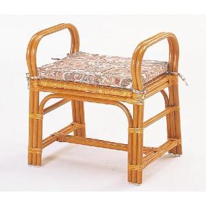 籐スツール ちょこっと座椅子 S-108 アジアンテイスト|sanukiya