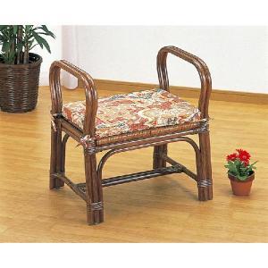 籐 ラタンスツール ちょこっと座椅子ロータイプ S-118B アジアンテイスト|sanukiya