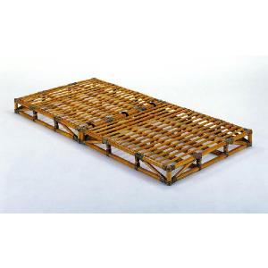 籐(ラタン)ベッド 籐すのこベッド シングルサイズ Y-906 アジアンテイスト 折りたたみベッド|sanukiya