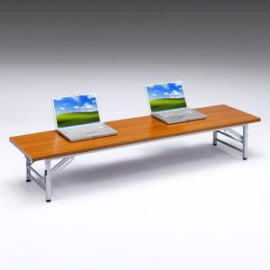 座卓 折りたたみ 会議用テーブル 長机 座卓 机  奥行450 横幅1800 sanwadirect 08