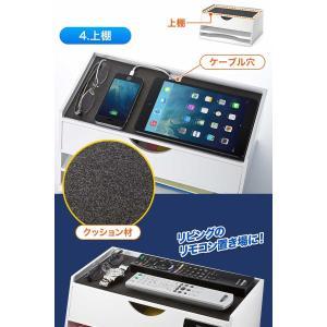 iPad タブレット 収納 机上台 充電ステーション 机上ラック(即納)|sanwadirect|06