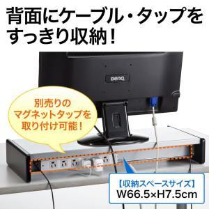 モニター台 液晶 机上ラック USBハブ iPhone iPad スマホ スタンド(即納)|sanwadirect|06