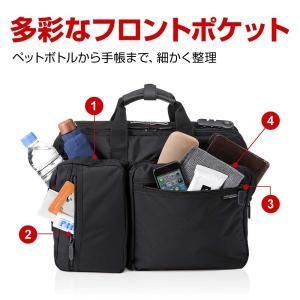 ビジネスバッグ メンズ 3WAY リュック 大容量 ビジネスバック 通勤 出張 鞄 カバン(即納)|sanwadirect|07