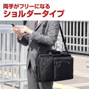 ビジネスバッグ メンズ 3WAY リュック 大容量 ビジネスバック 通勤 出張 鞄 カバン(即納)|sanwadirect|09