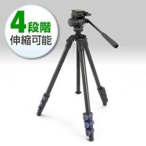 三脚 一眼レフ カメラ ビデオカメラ 三脚(即納)|sanwadirect
