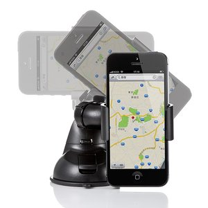 スマホ 車載ホルダー iPhone 車 車載 スマホスタンド スマホホルダー 車載用品(即納)|sanwadirect|03