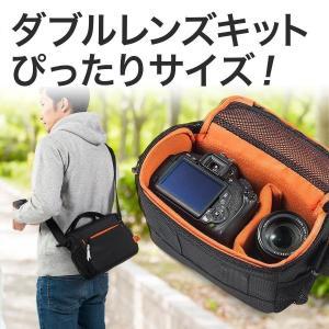 カメラバッグ 一眼レフ バッグ ショルダー カメラケース レンズ収納 カメラバック