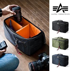 カメラケース 一眼レフ ミラーレス一眼 カメラバッグ インナーボックス バッグ アルファ 保管用 MA-1生地|sanwadirect