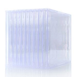 CDケース DVDケース 2枚 収納 スリム 10枚セット(即納)|sanwadirect|02