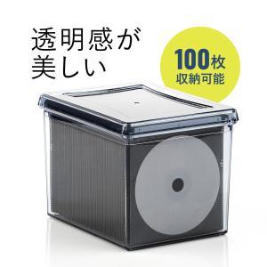 CDケース DVDケース ブルーレイ メディアケース アクリル ボックス 不織布ケース 50枚付き CD DVD Blue-rayボックス(即納)|sanwadirect