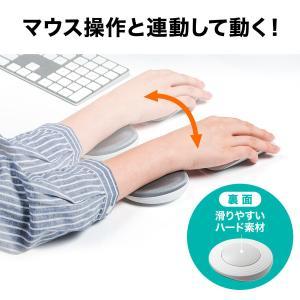 リストレスト 手首 疲労 軽減 PC パソコン 腱鞘炎防止 リストレスト クッション(即納)|sanwadirect
