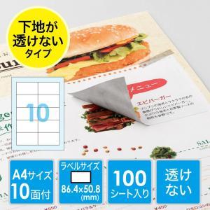 ラベルシール A4 10面 100枚(即納) sanwadirect