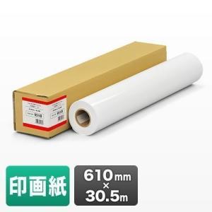 プロッター用紙 プリンタ 大判 ロール紙 印画紙 610mm×30.5m エプソン&キヤノン&HP対応(取寄せ)|sanwadirect