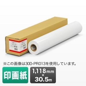 プロッター用紙 プリンタ 大判 ロール紙 印画紙 1118mm×30.5m エプソン&キヤノン&HP対応(取寄せ)|sanwadirect