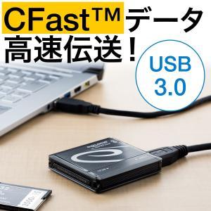 CFastカードリーダー CFast2.0 コンパクト DeLOCK 91686|sanwadirect