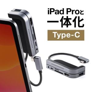 USBハブ Type-C ハブ iPad Pro 2018 カードリーダー SD microSD P...