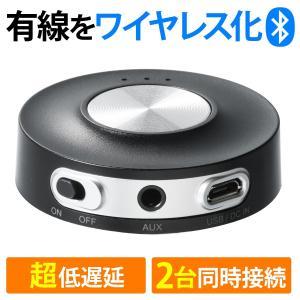 Bluetooth トランスミッター 超低遅延 2台同時 高音質 Bluetooth4.2 apt-...