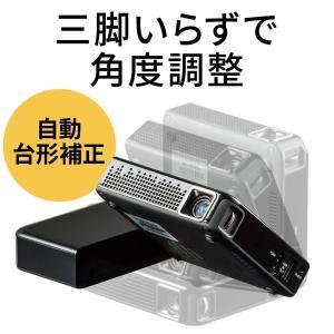 プロジェクター 小型 家庭用 モバイルプロジェクター スマホ HDMI 本体 ミニプロジェクター(即納)|sanwadirect