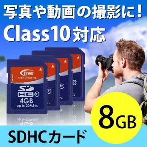 SDカード 8GB SDHCカード Class10(即納)|sanwadirect