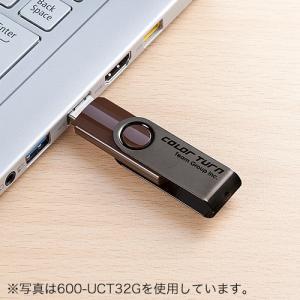 USBフラッシュメモリ スイングタイプ 4GB(即納) sanwadirect 05