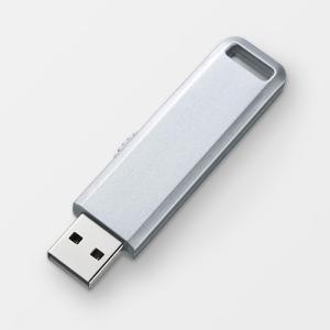 USBメモリ 8GB USB メモリー 8GB スライド式 シルバー(即納) sanwadirect 06