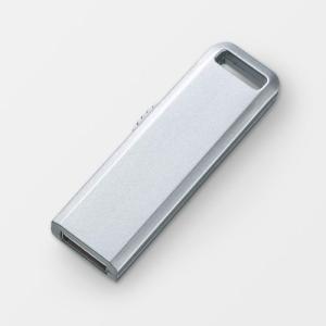 USBメモリ 8GB USB メモリー 8GB スライド式 シルバー(即納) sanwadirect 07