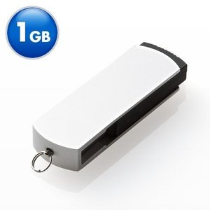 USBメモリ 1GB USBメモリー スイングタイプ(即納)|sanwadirect