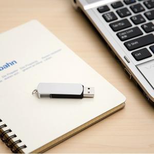USBメモリ 4GB USB メモリー スイングタイプ(4G) シルバー(即納)|sanwadirect|04