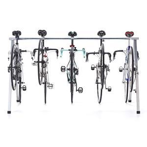 自転車スタンド 5台 レース サイクルラック(即納)の詳細画像5