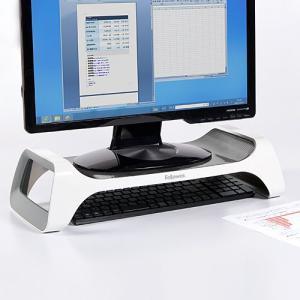液晶ディスプレイ台 Monitor Lift 液晶モニター台 キーボード収納 sanwadirect 02