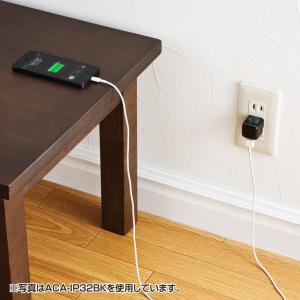 USB充電器 1ポート 1A 小型 ホワイト(ACA-IP32WN)(即納)|sanwadirect|03